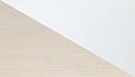 effetto pino chiaro, bianco lucido