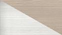 bianco, effetto tortora larice lucido
