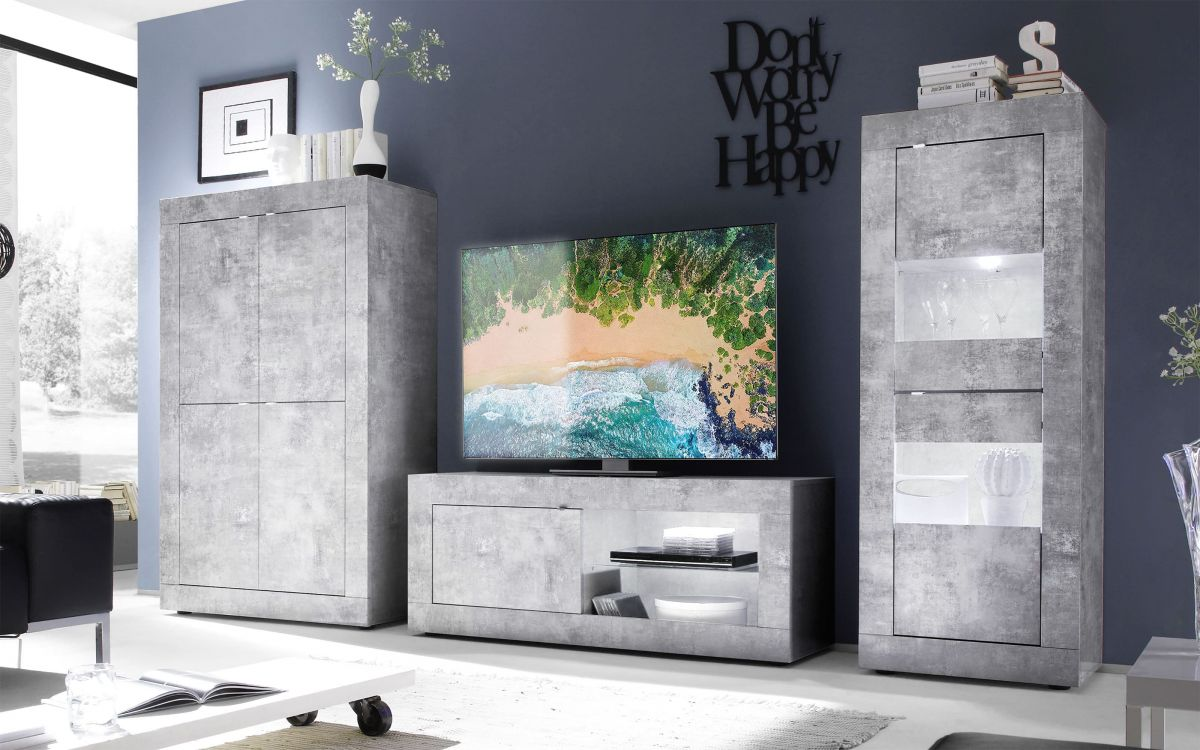 Porta tv beton - Basic |  5ATO 01