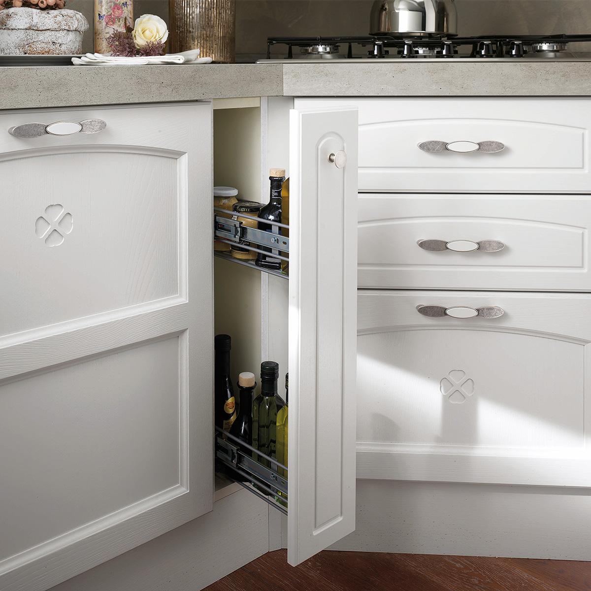 Cucina componibile, bianco frassinato | : Carmen TN5Y