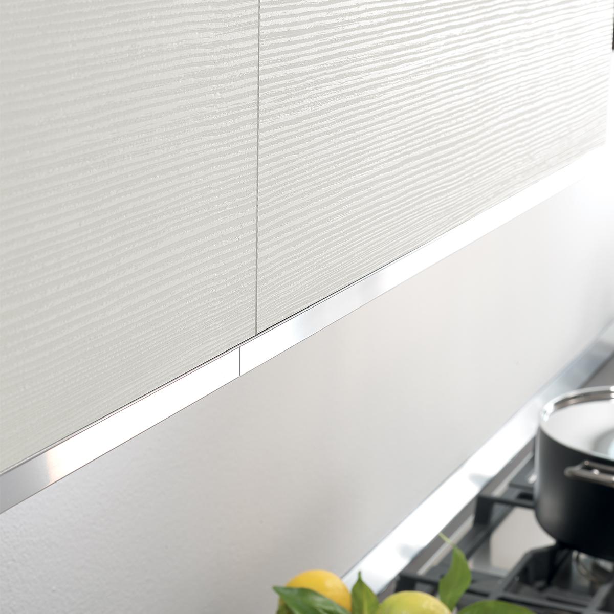 Cucina componibile, effetto bianco | : Oasi Q4U4