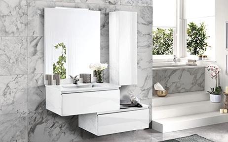 Elegant - Componibili bagno - Bagni