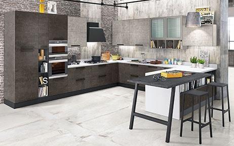 Cucina Bianca Laccata Lucida. Cucina Scavolini Liberamente Moderna ...