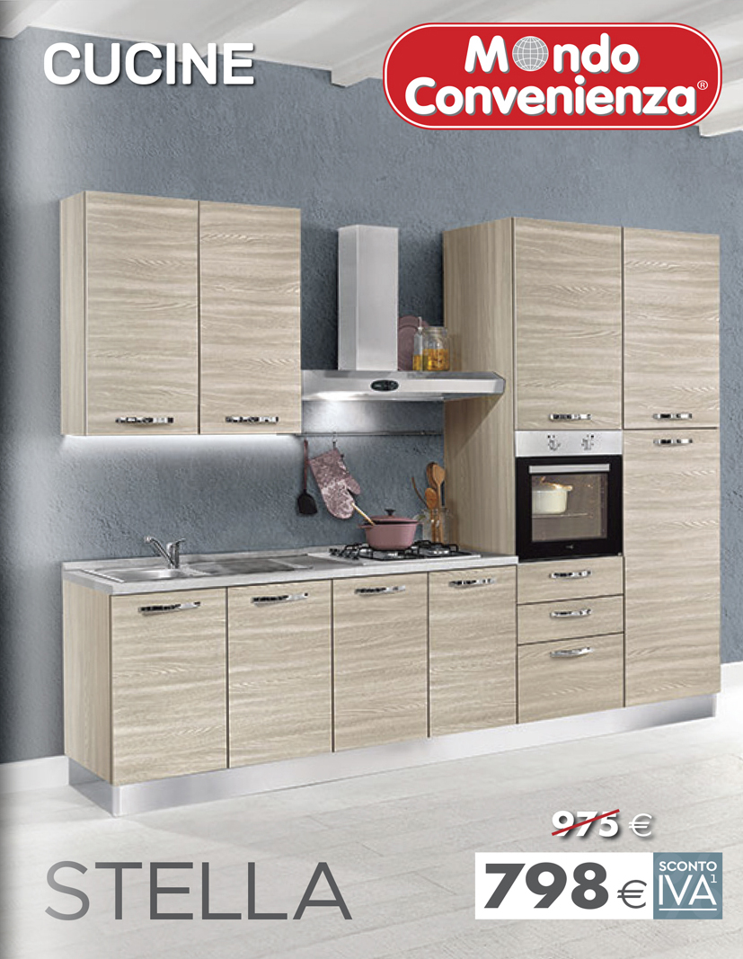 Catalogo for Volantino mondo convenienza cucine