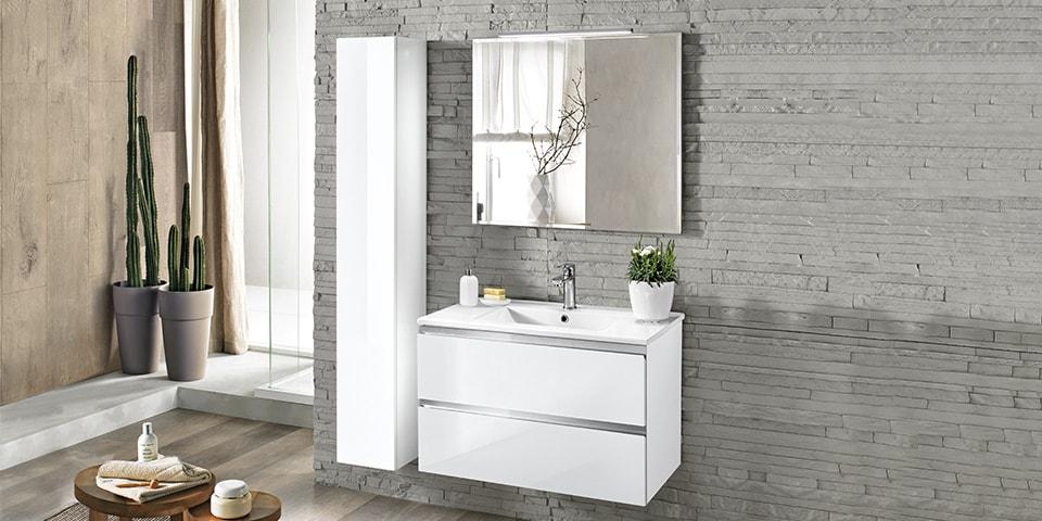Trendy bagni bagni with mobili bagno ad angolo - Armadietto bagno mondo convenienza ...