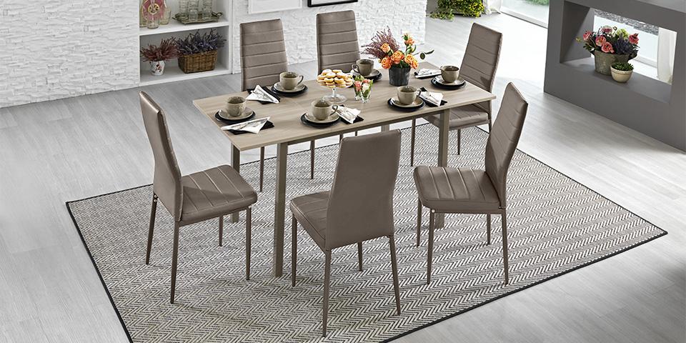 Tavoli e sedie mondo convenienza for Tavolo quadrato mondo convenienza