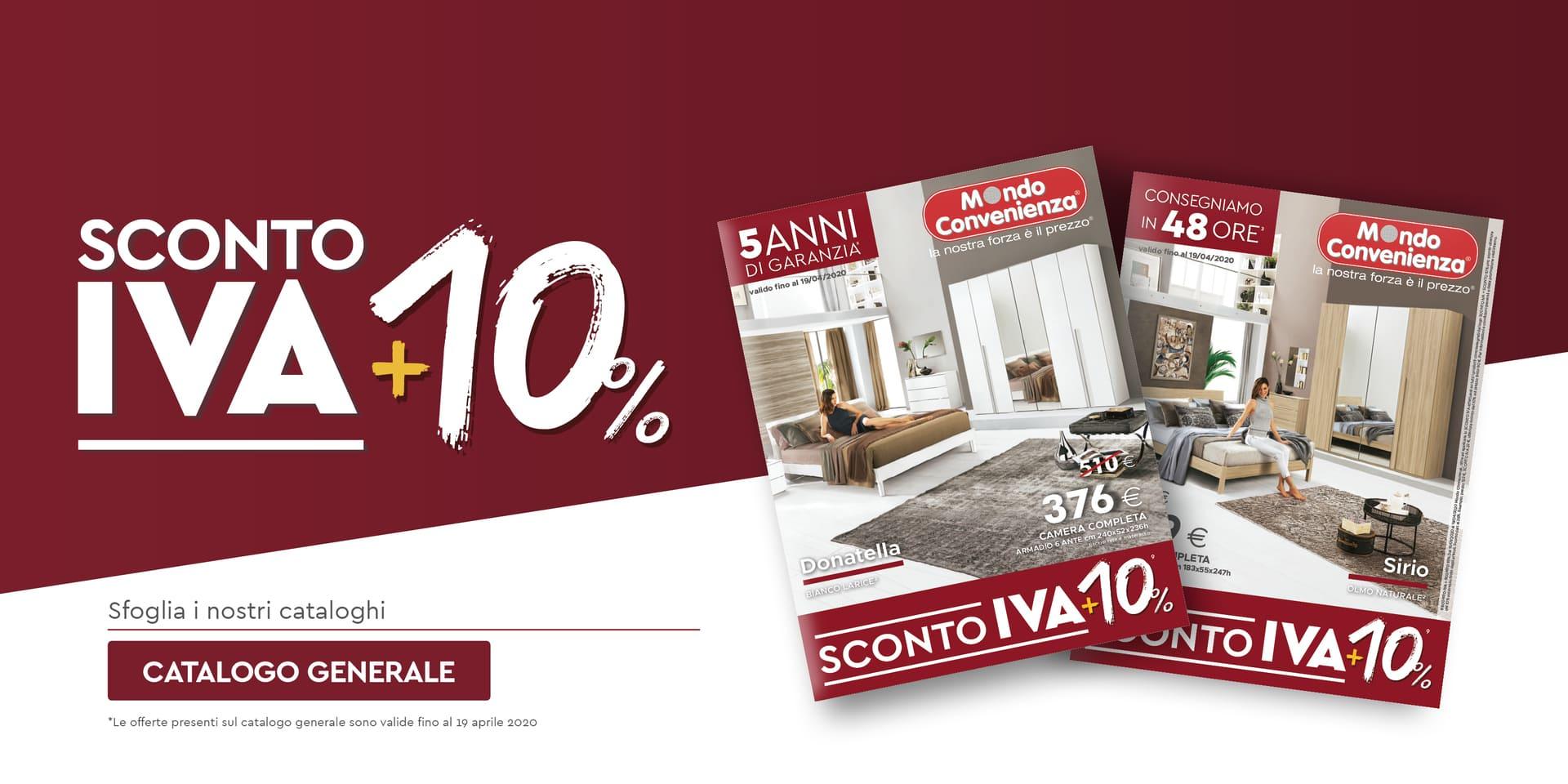 Sconto IVA + 10%